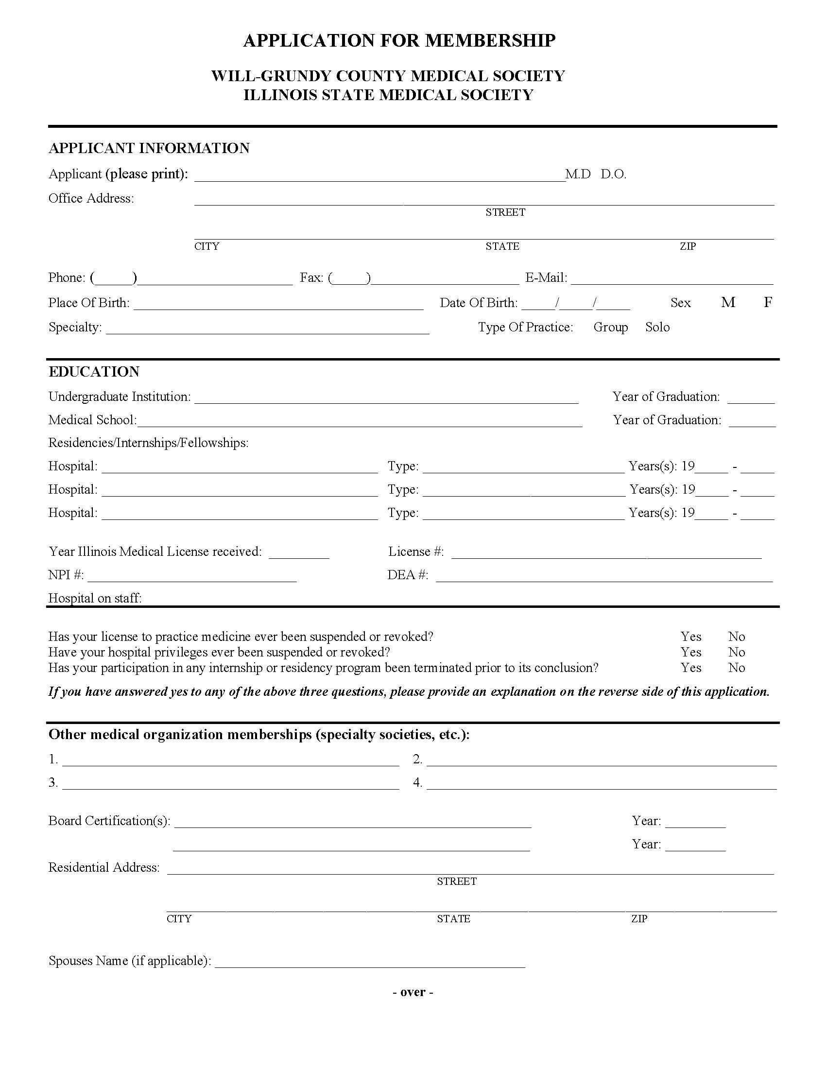 WGCMS application - Page 1