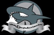 Shark-Shredding-Anniversary-Logo